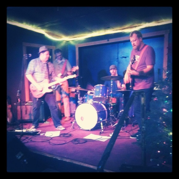 Dan Jones, Dan Schmid, Mike Last, Scott K @ Sam Bond's Garage 12/22